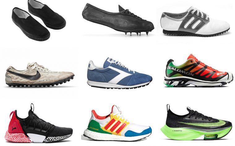 История беговых кроссовок