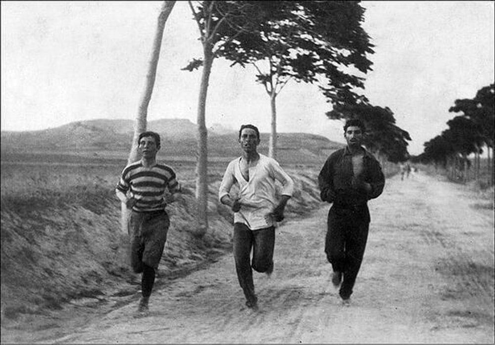 Первый Олимпийский Марафон в 1896 году