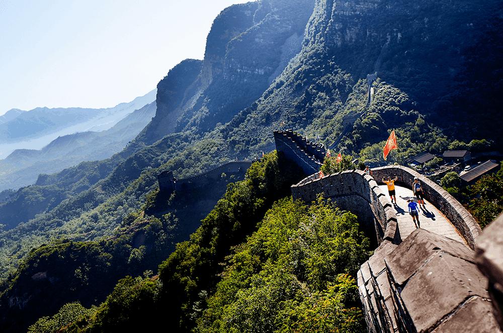 Забег по Великой Китайской стене