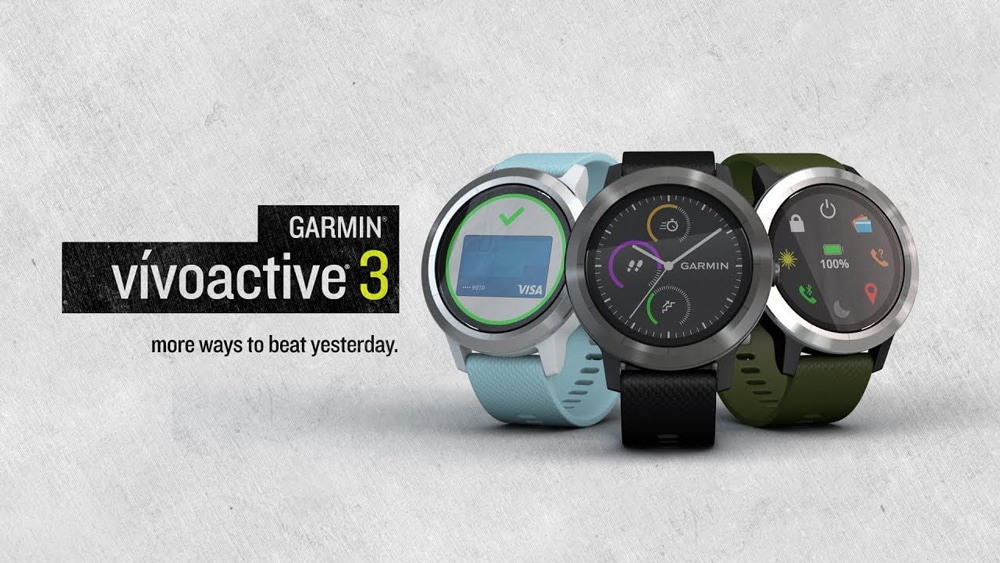 Огляд GARMIN Vivoactive 3 від бігуна 1