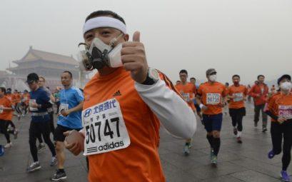 Бег и загрязнение воздуха
