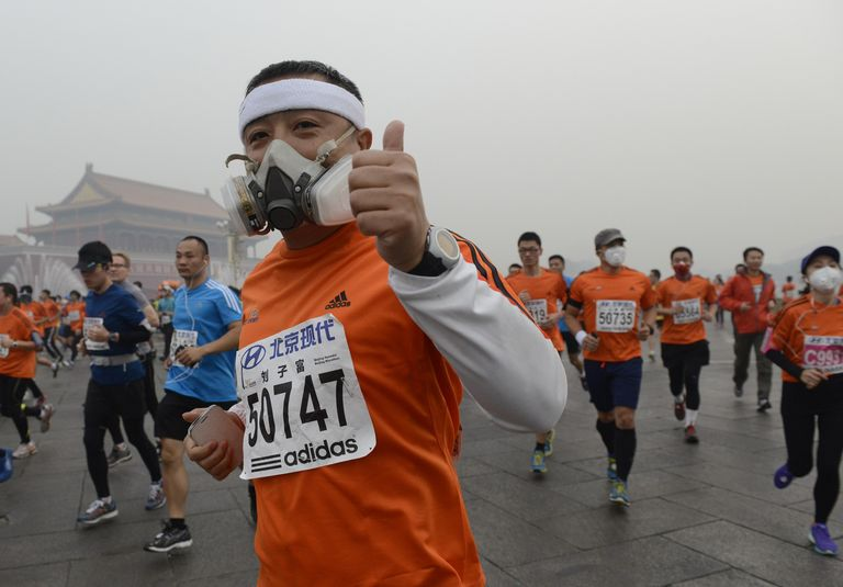 Марафон в Пекине