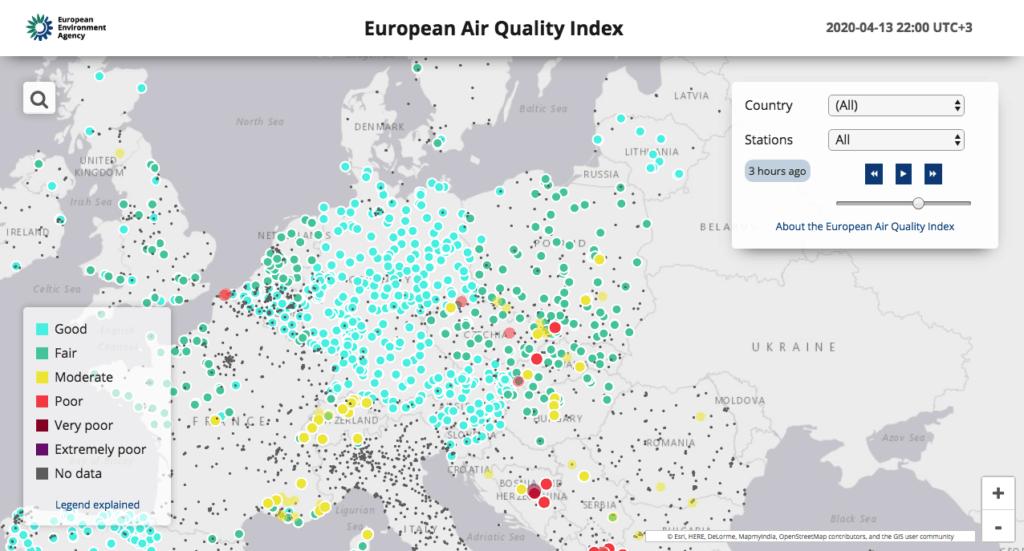 Европейский индекс качества воздуха