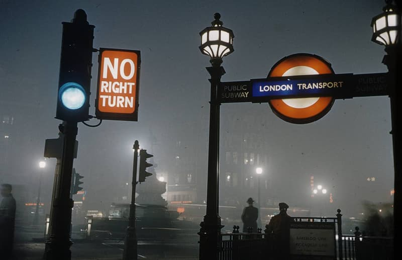 Великий Смог в Лондоне