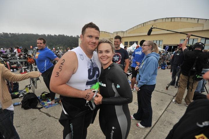 Matt Hoover - самый тучный финишёр триатлона Ironman