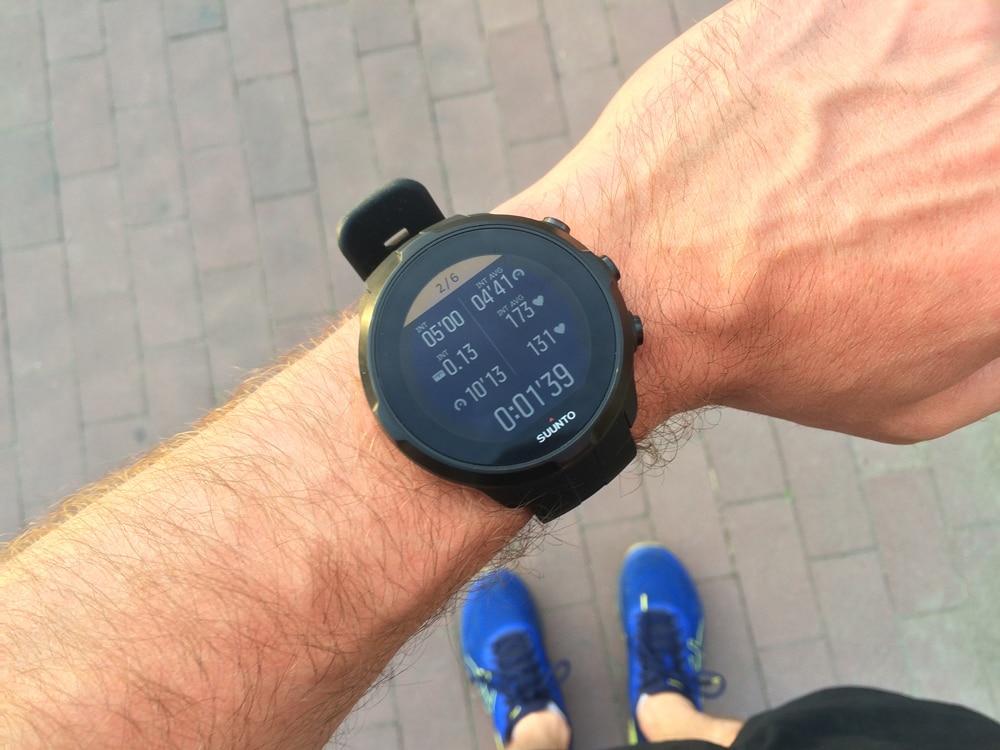 Интервальная тренировка с Suunto Spartan Sport Wrist HR