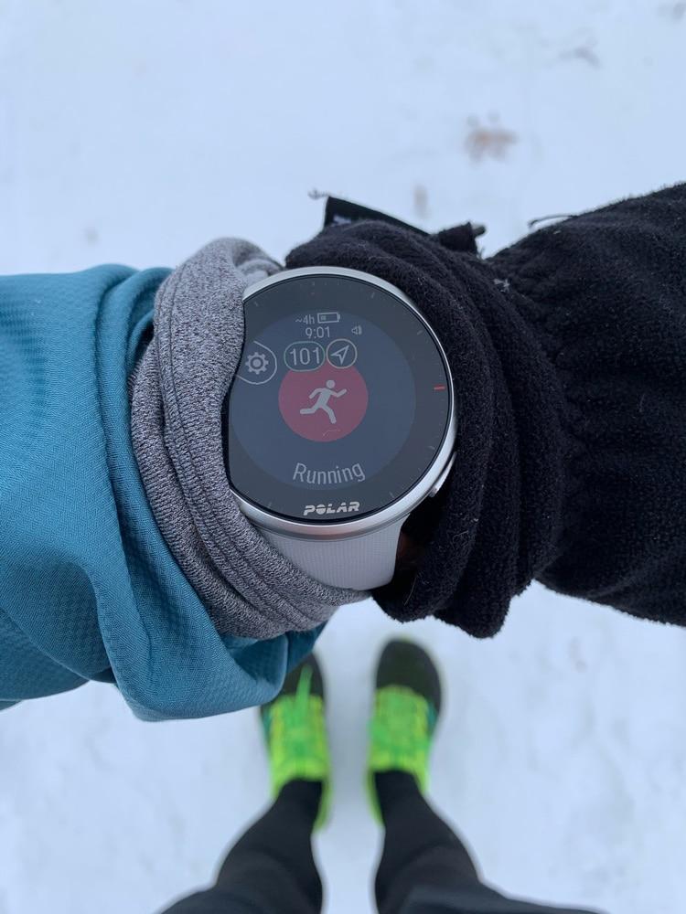 Polar Vantage V2 и беговые тренировки