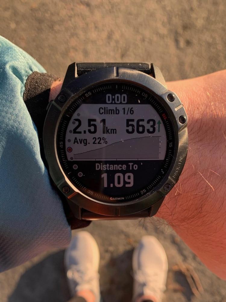 Garmin Fenix 6x Pro ClimbPro