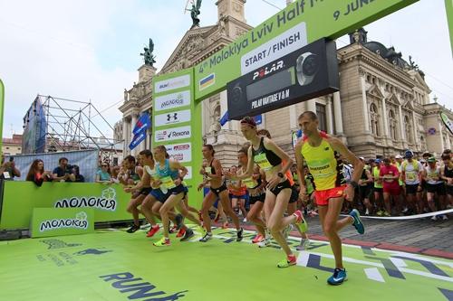 Шестой Molokiya Lviv Half Marathon
