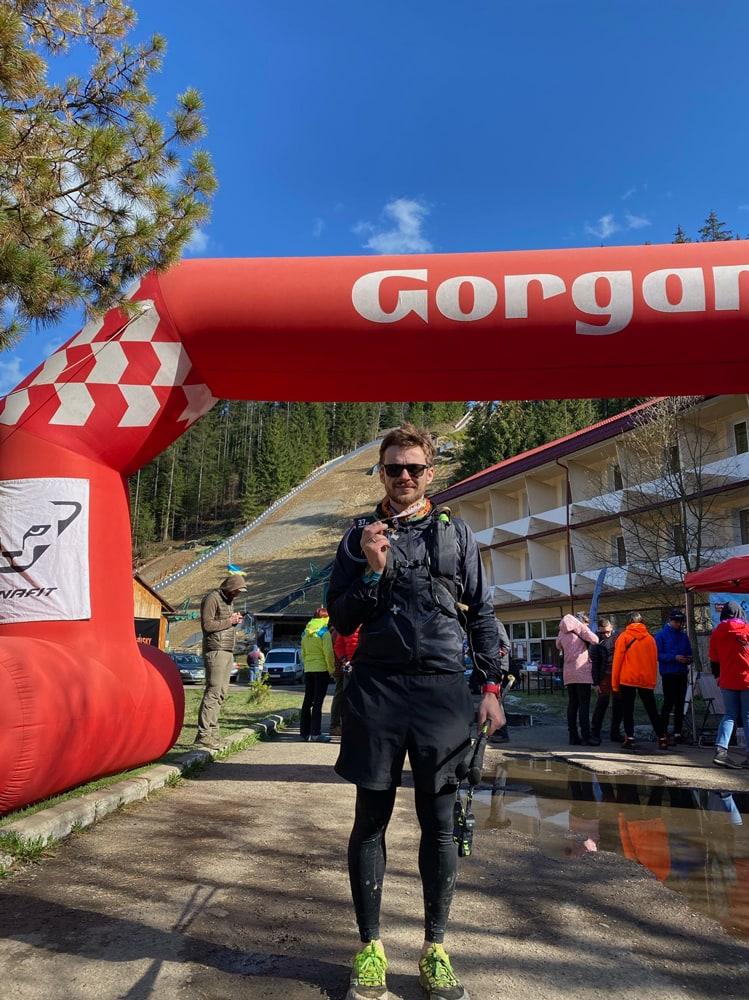 Финиш Karpaty Dynafit Trail 2021
