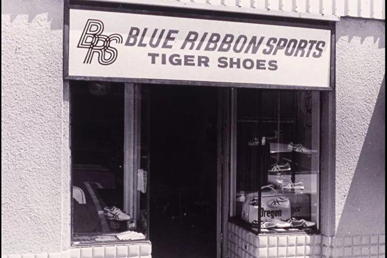 Магазин компании Blue Ribbon Sports