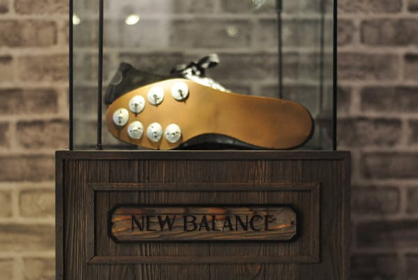 Первые беговые кроссовки New Balance